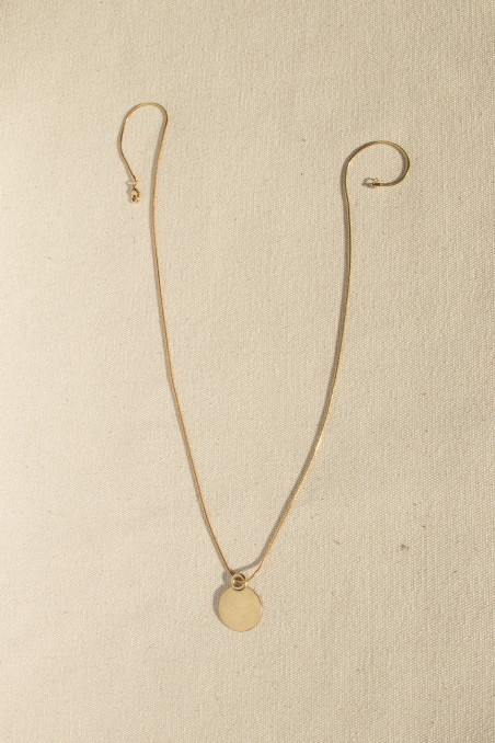 Chapa medal necklace